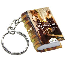 aphorisms_keychain_miniature_book