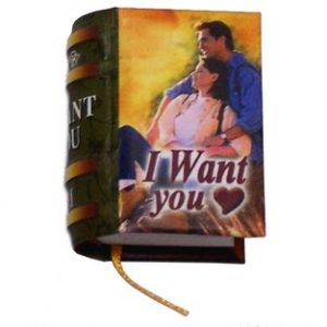 miniature book I want you