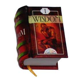 miniature book wisdom 1