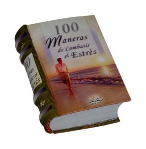 100 maneras combatir stress miniature book libro