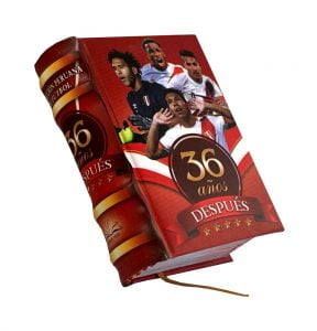 36 anos despues miniature book libro