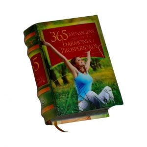 365 Mensagens miniature book libro