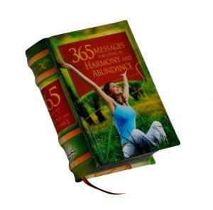 365 Messages living harmony abundance miniature book libro
