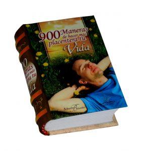 900 maneras hacer placentera tu vida miniature book libro