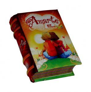 Amarte es miniature book libro