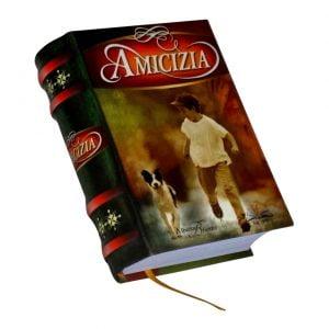 Amicizia miniature book libro