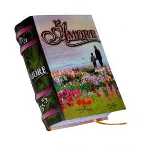 Amore miniature book libro
