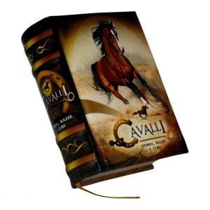 Cavalli miniature book libro