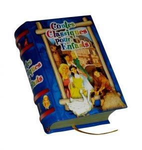 Contes enfants miniature book libro
