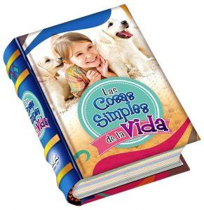 Cosas Simples vida miniature book libro