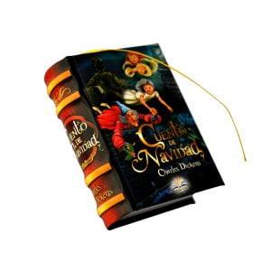 Cuento Navidad miniature book libro