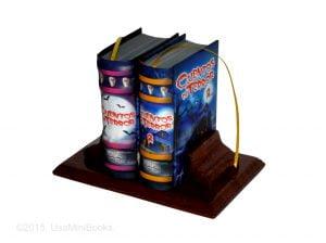 Cuentos Terror miniature book libro
