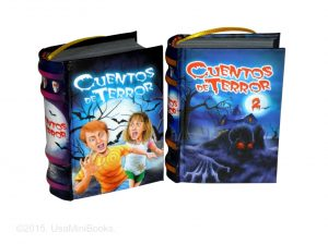 Cuentos Terror 2 miniature book libro