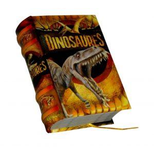 Dinosaures miniature book libro