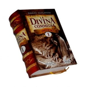 Divina commedia 1 miniature book libro