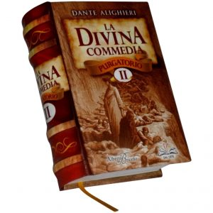 Divina commedia 2 miniature book libro