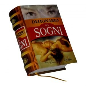 Dizionario dei sogni miniature book libro