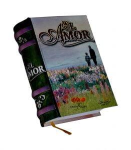 El Amor1 miniature book libro