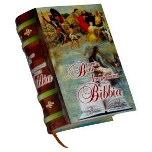 Ensegnamenti Bibbia miniature book libro