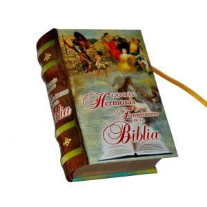 Ensenanzas de la Biblia miniature book libro