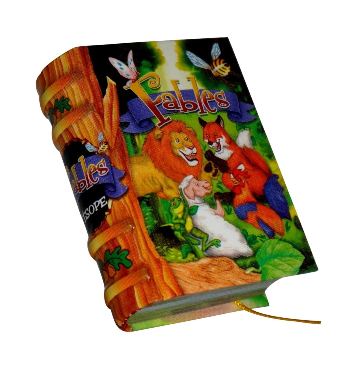 Fables_French-miniature-book-libro