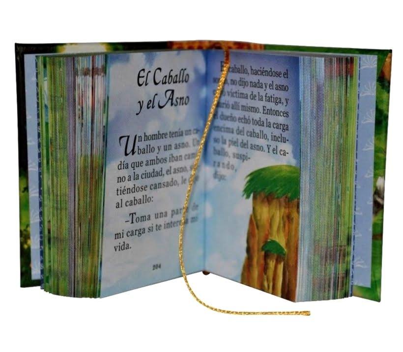 Fabulas-1-miniature-book-libro