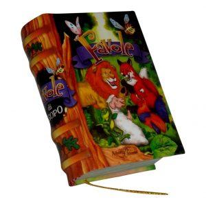 Favole miniature book libro