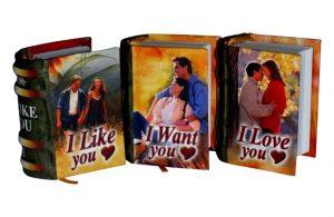 Forever in Love 1 miniature book libro