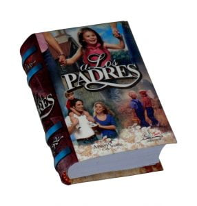 a los Padres miniature book libro