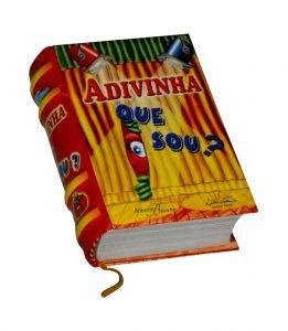 adivinha que sou miniature book libro