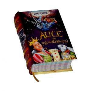 alice no pais das maravilhas miniature book libro