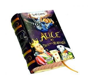 alice paese maraviglie miniature book libro