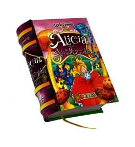 alicia pais maravillas ilustrada miniature book libro