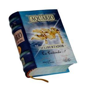 aquario portugues miniature book libro