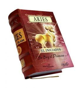 aries miniature book libro