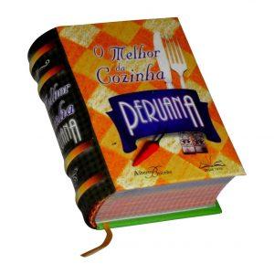 cocinha peruana miniature book libro