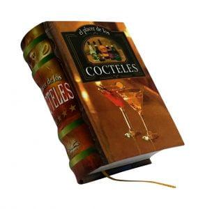 cocteles miniature book libro