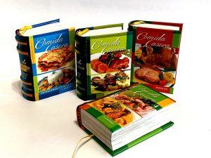 comida casera coleccion 1 miniature book libro