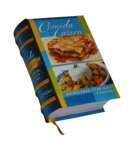 comida casera 1 miniature book libro