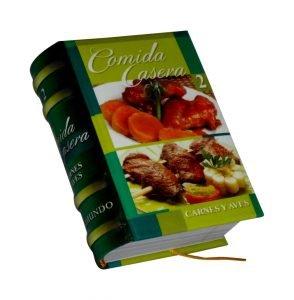comida casera 2 miniature book libro
