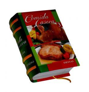 comida casera 3 miniature book libro