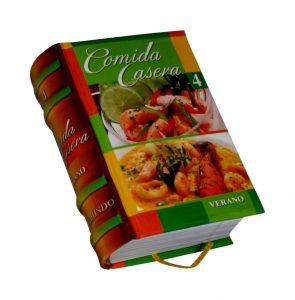 comida casera 4 miniature book libro