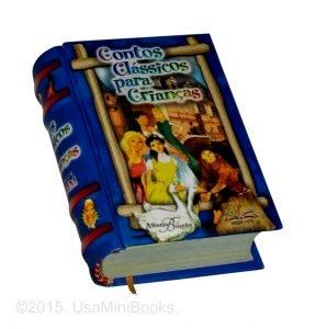 contos criancas miniature book libro