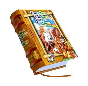 cuentos clasicos III miniature book libro