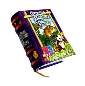 cuentos clasicos V miniature book libro