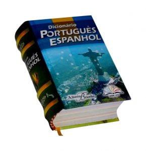 dicionario portugues espanhol miniature book libro