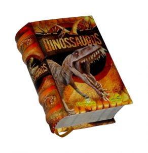 dinossauros miniature book libro