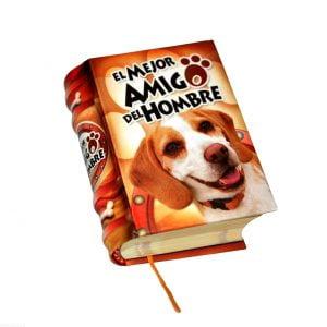 el mejor amigo del hombre miniature book libro