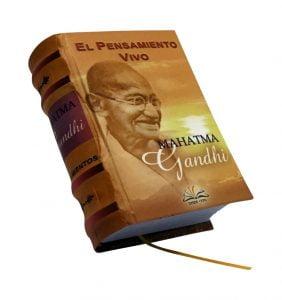 el pensamiento vivo mahatma gandhi miniature book libro