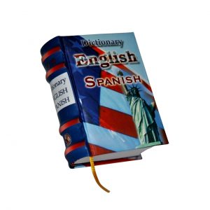 english dictionary miniature book libro